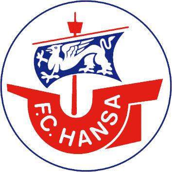 Escudo de F.C. HANSA ROSTOCK (ALEMANIA)