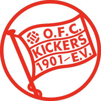 Escudo de KICKERS OFFENBACH (ALEMANIA)