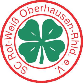Escudo de SC ROT-WEISS OBERHAUSEN (ALEMANIA)