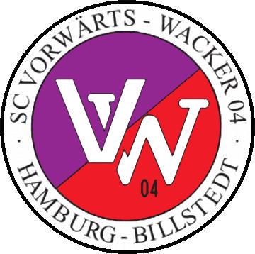 Escudo de SC VORWARTS-WACKER 04 (ALEMANIA)
