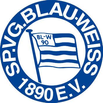 Escudo de SP.VG. BLAU-WEISS (ALEMANIA)
