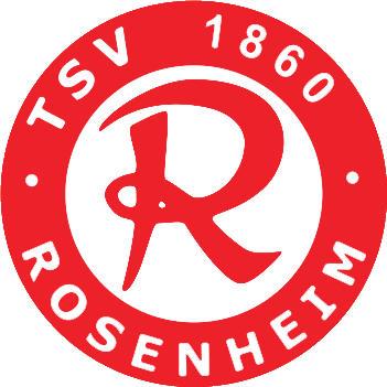 Escudo de TSV 1860 ROSENHEIM (ALEMANIA)