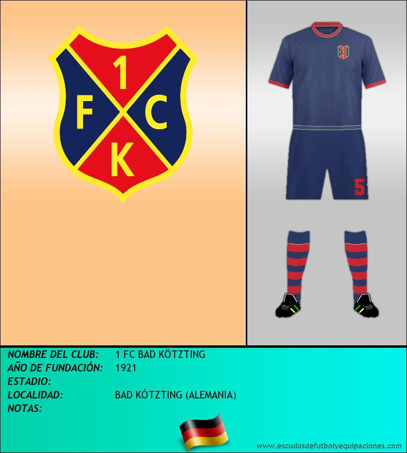 Escudo de 1 FC BAD KÖTZTING