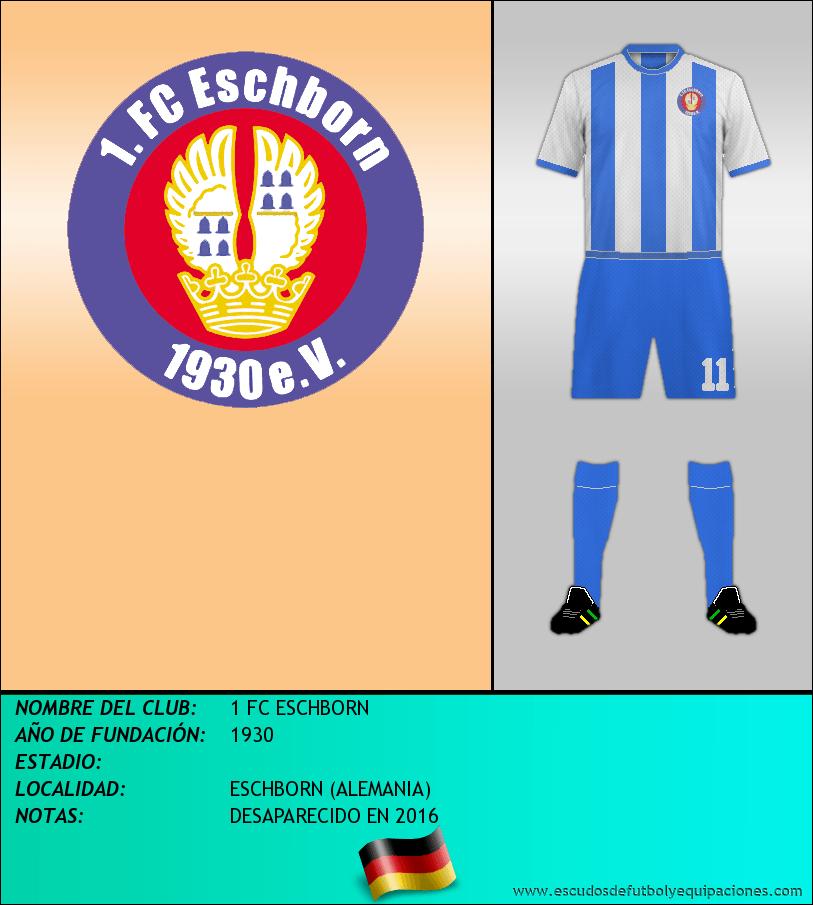 Escudo de 1 FC ESCHBORN