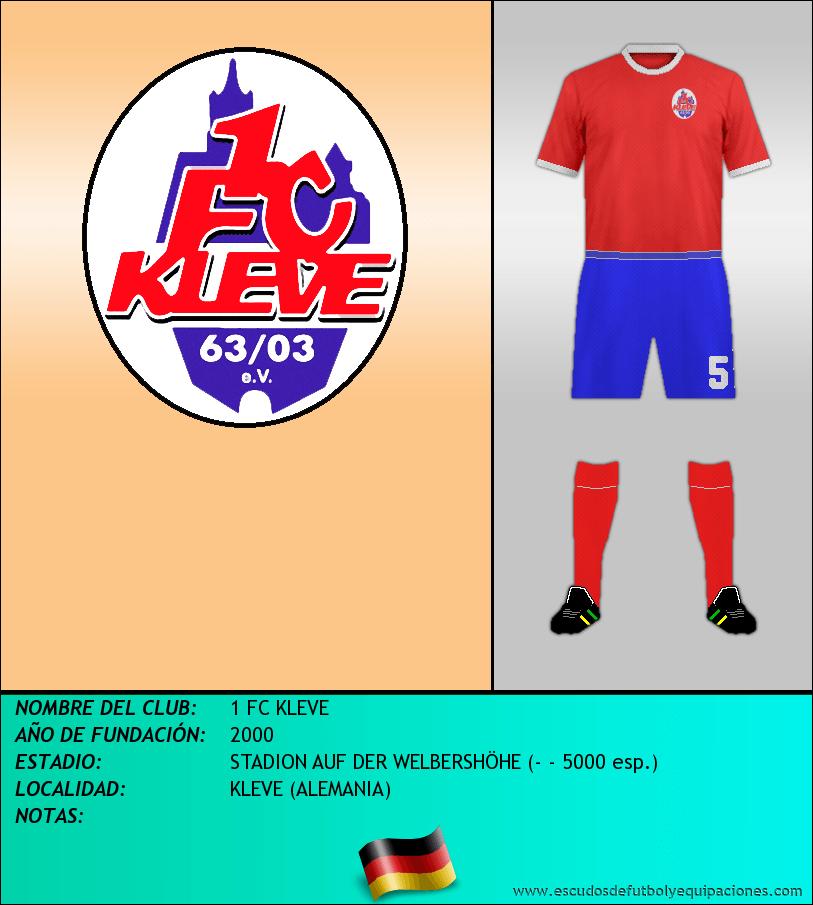 Escudo de 1 FC KLEVE