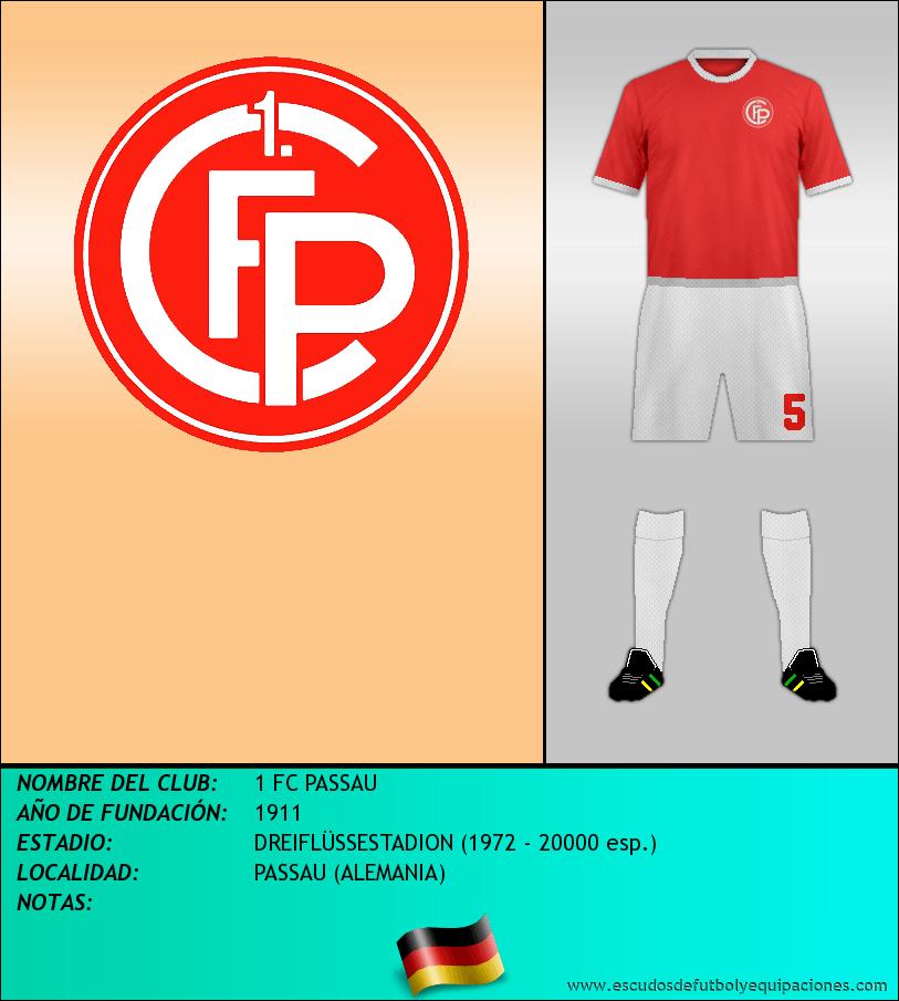 Escudo de 1 FC PASSAU