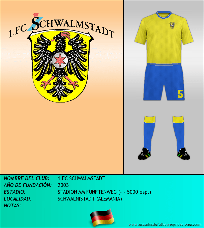 Escudo de 1 FC SCHWALMSTADT