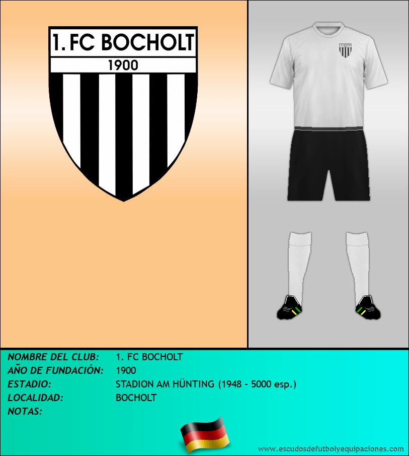 Escudo de 1. FC BOCHOLT