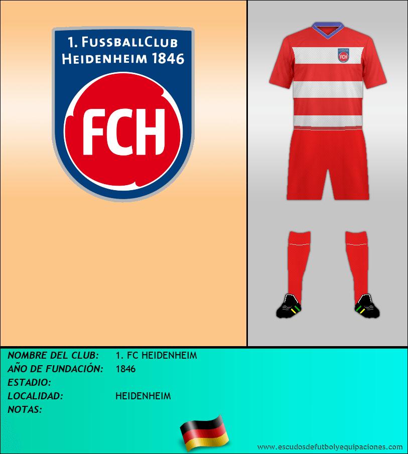 Escudo de 1. FC HEIDENHEIM