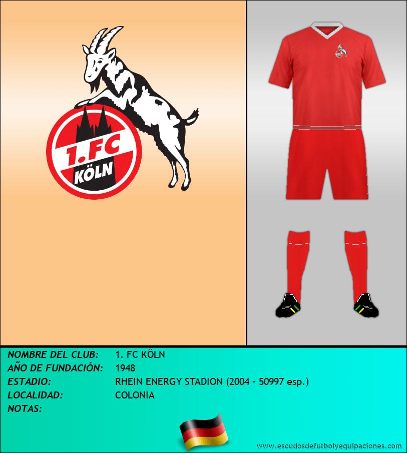 Escudo de 1. FC KÖLN
