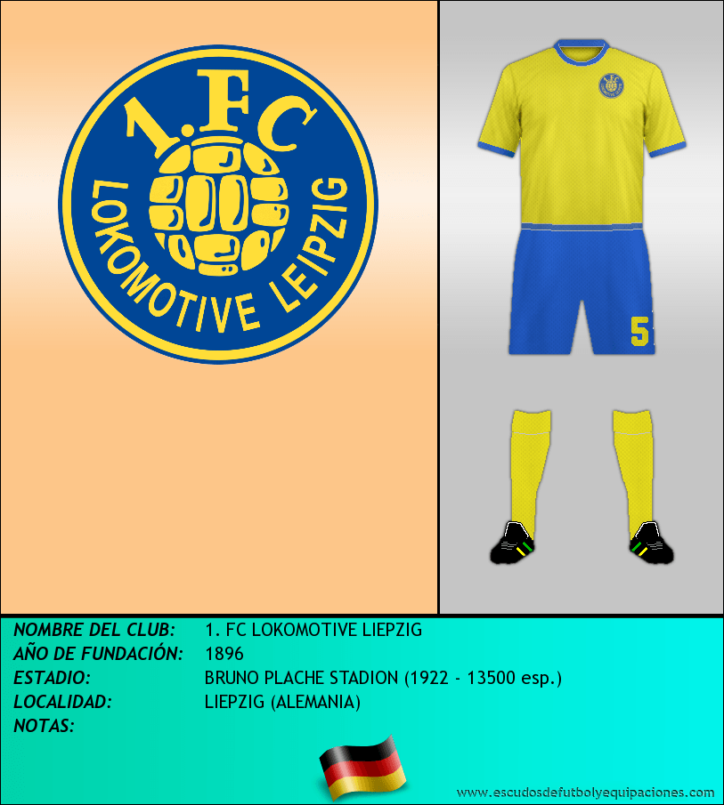 Escudo de 1. FC LOKOMOTIVE LIEPZIG