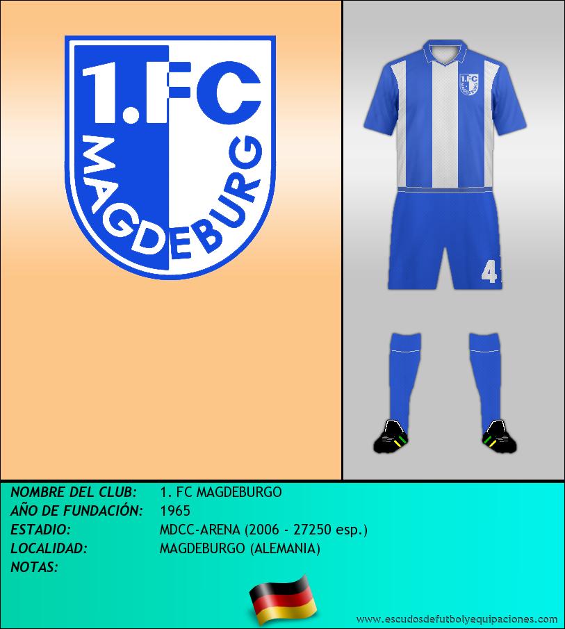 Escudo de 1. FC MAGDEBURGO