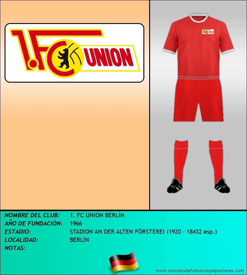 Escudo de 1. FC UNION BERLÍN