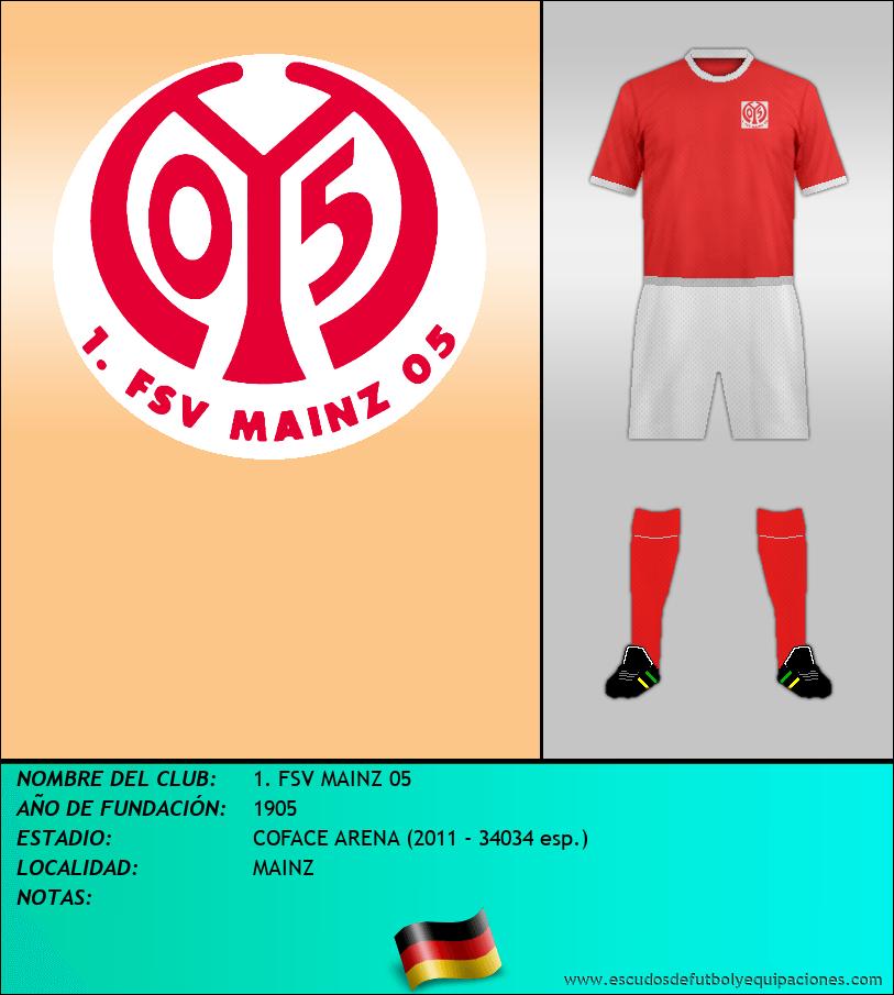 Escudo de 1. FSV MAINZ 05