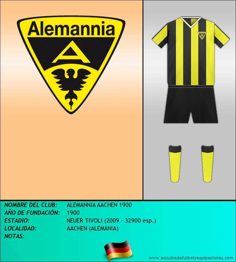Escudo de ALEMANNIA AACHEN 1900