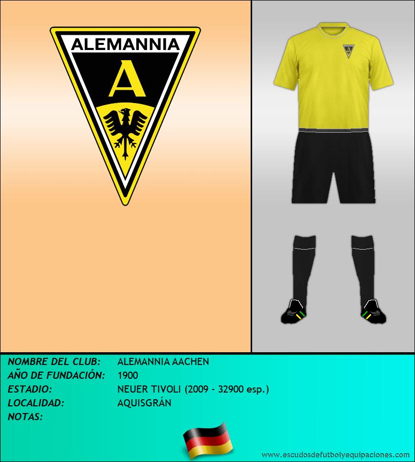 Escudo de ALEMANNIA AACHEN