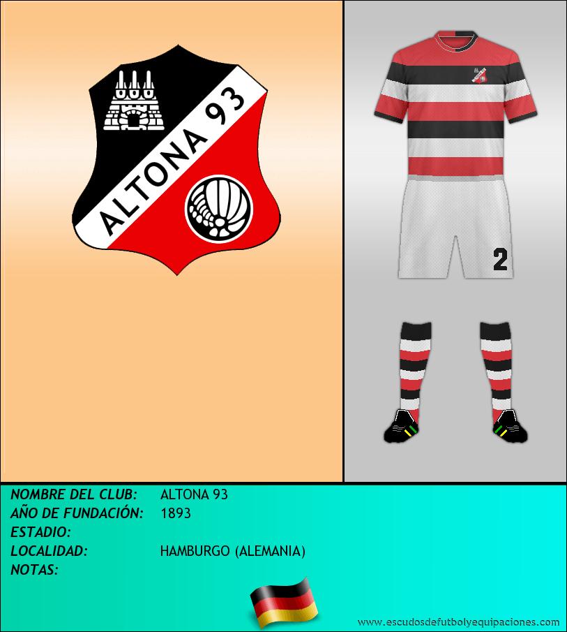 Escudo de ALTONA 93