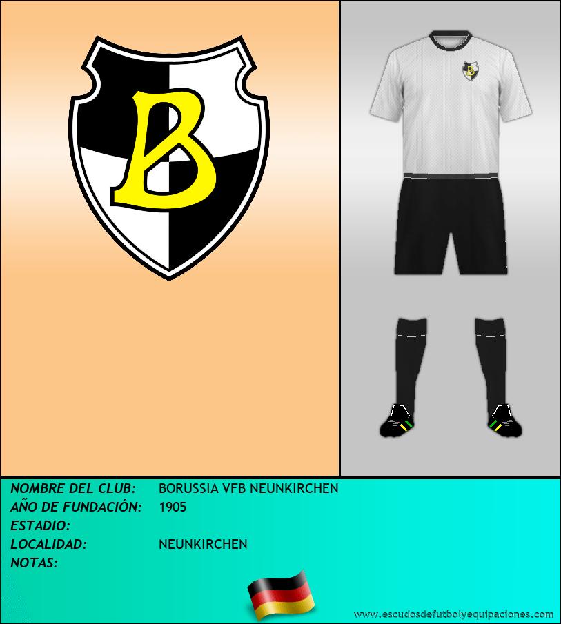 Escudo de BORUSSIA VFB NEUNKIRCHEN