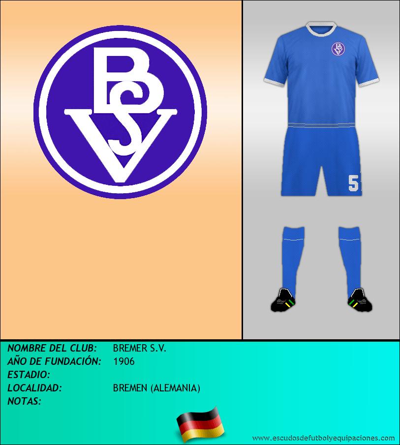 Escudo de BREMER S.V.