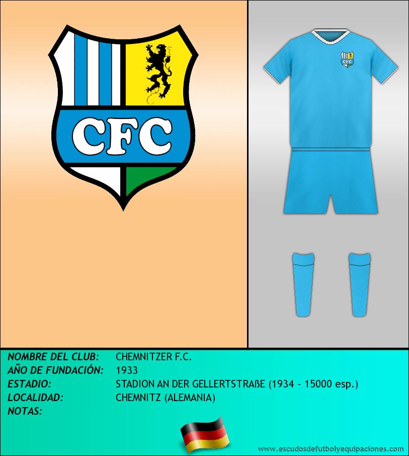 Escudo de CHEMNITZER F.C.