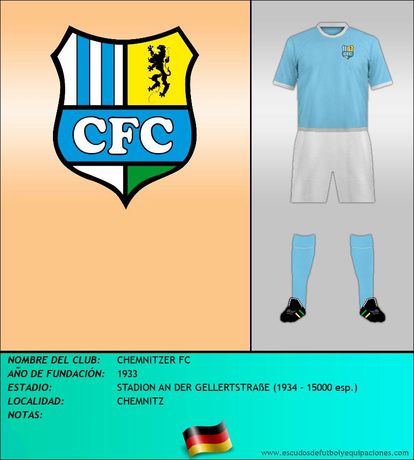 Escudo de CHEMNITZER FC