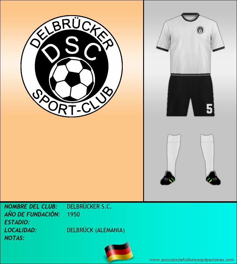 Escudo de DELBRÜCKER S.C.