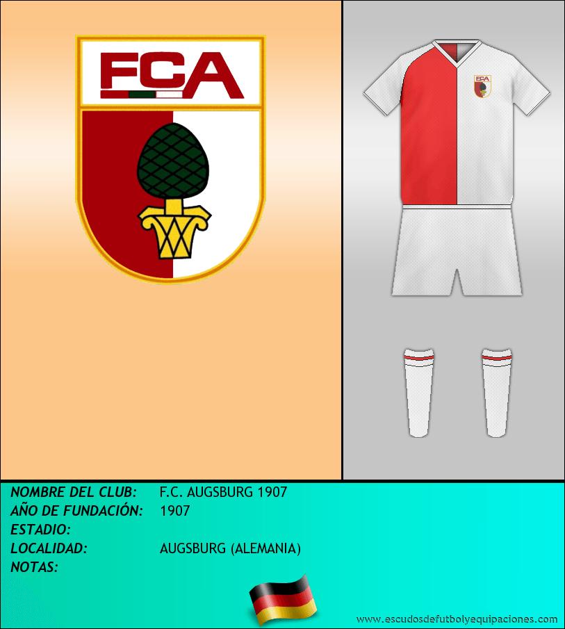 Escudo de F.C. AUGSBURG 1907