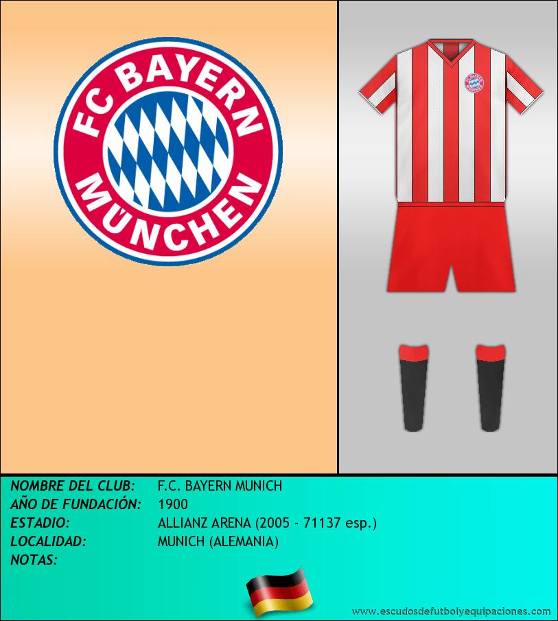 Escudo de F.C. BAYERN MUNICH