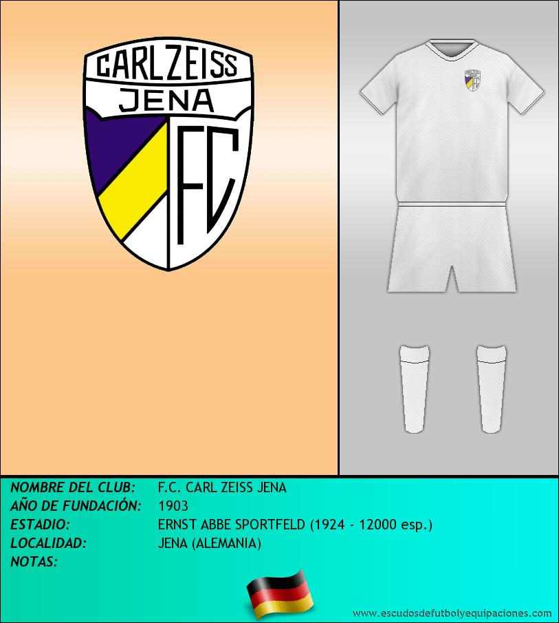 Escudo de F.C. CARL ZEISS JENA