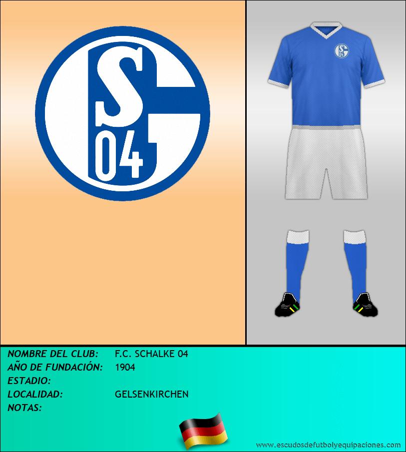 Escudo de F.C. SCHALKE 04