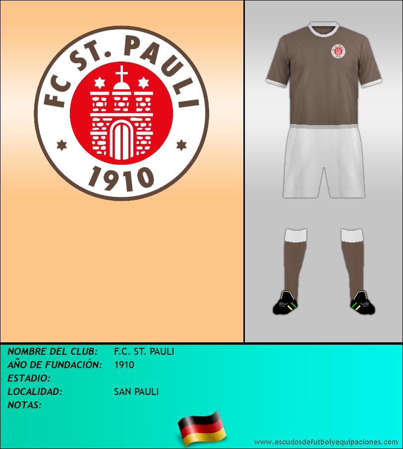 Escudo de F.C. ST. PAULI
