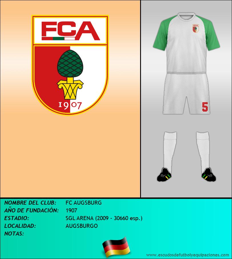 Escudo de FC AUGSBURG