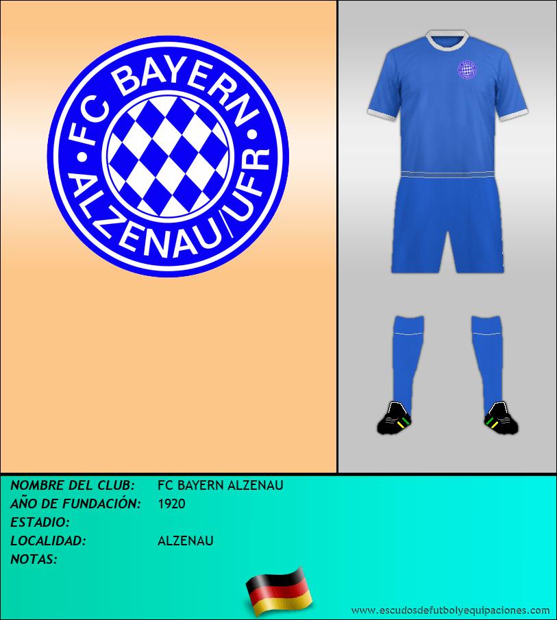 Escudo de FC BAYERN ALZENAU
