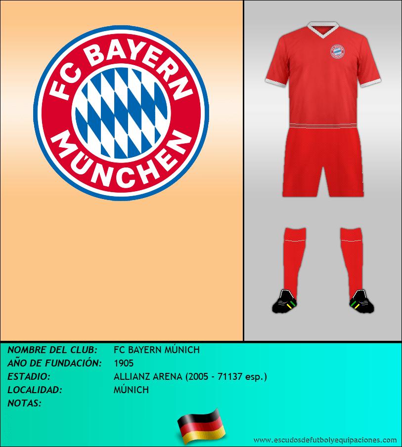 Escudo de FC BAYERN MÚNICH