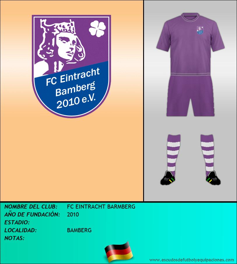Escudo de FC EINTRACHT BARMBERG