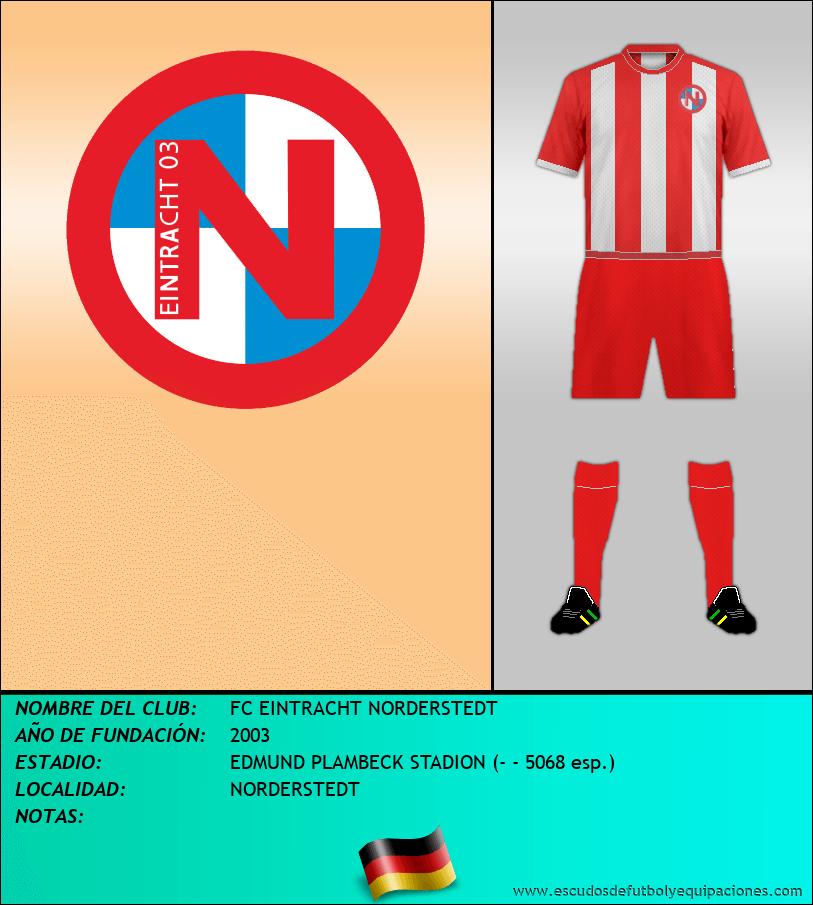 Escudo de FC EINTRACHT NORDERSTEDT
