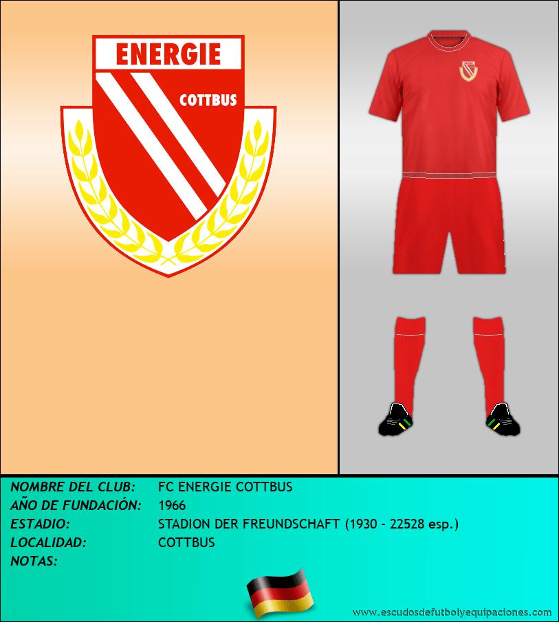 Escudo de FC ENERGIE COTTBUS