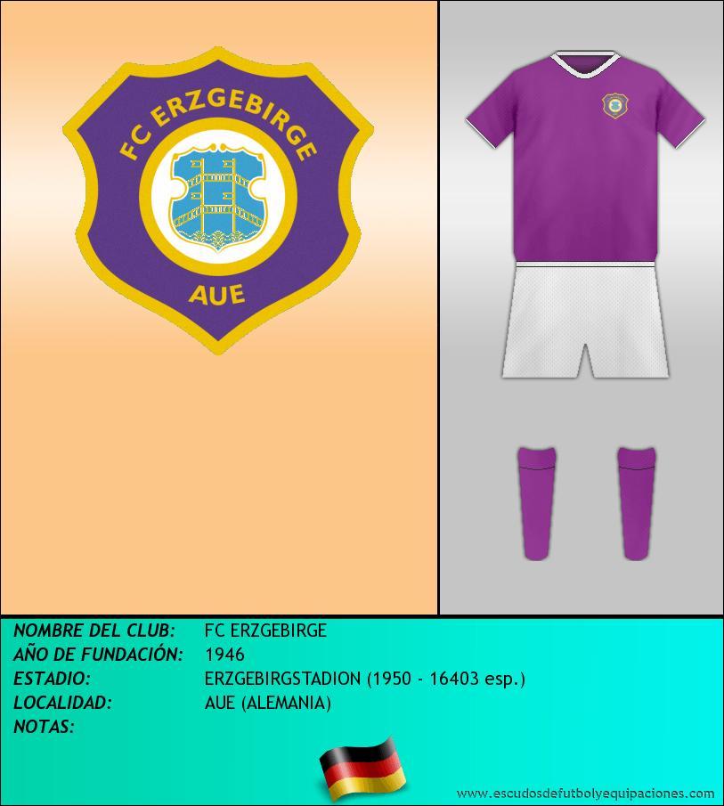 Escudo de FC ERZGEBIRGE