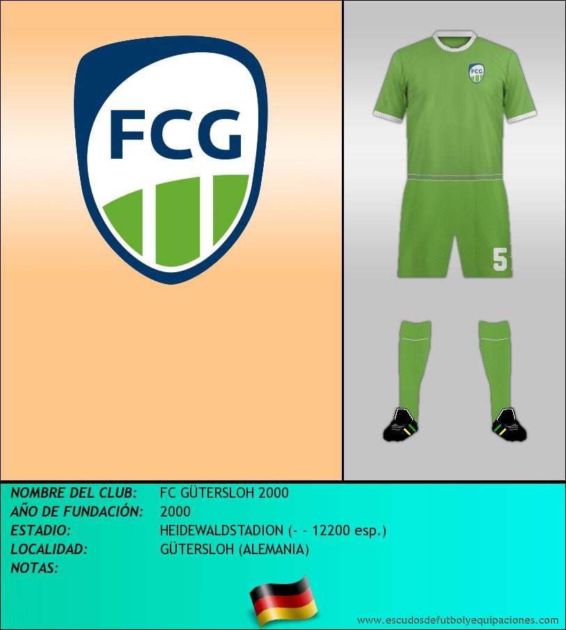 Escudo de FC GÜTERSLOH 2000