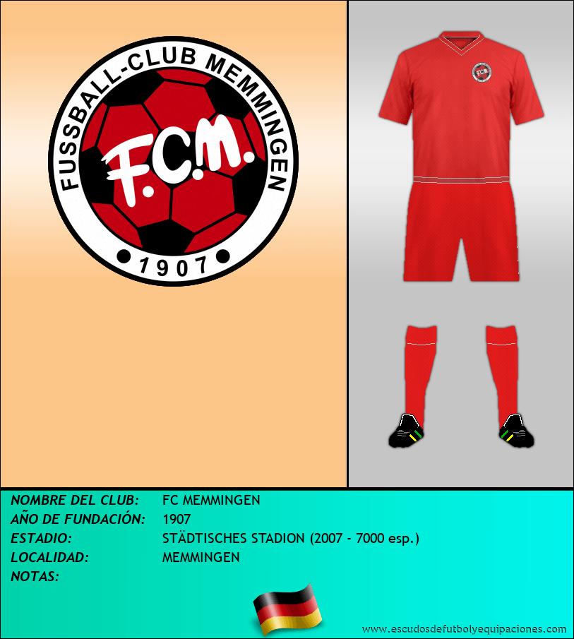 Escudo de FC MEMMINGEN