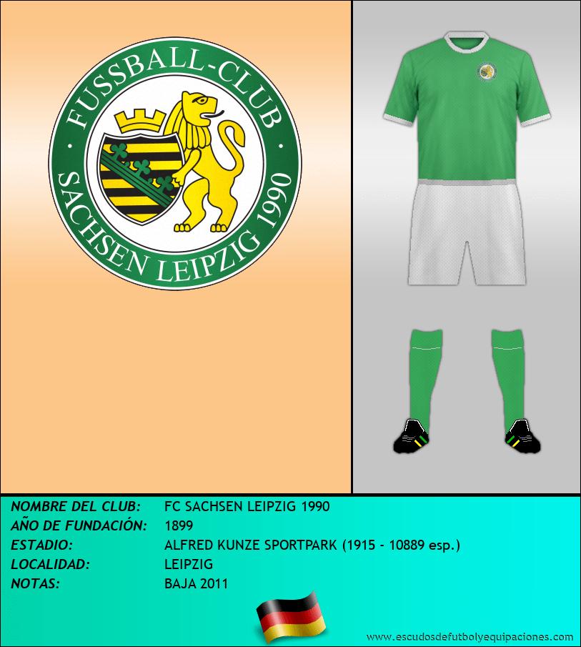 Escudo de FC SACHSEN LEIPZIG 1990