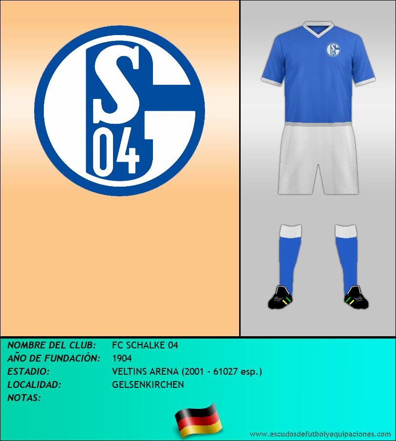 Escudo de FC SCHALKE 04