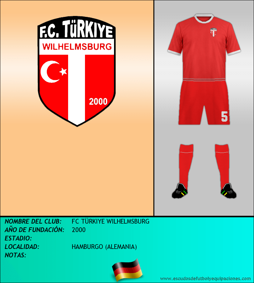 Escudo de FC TÜRKIYE WILHELMSBURG