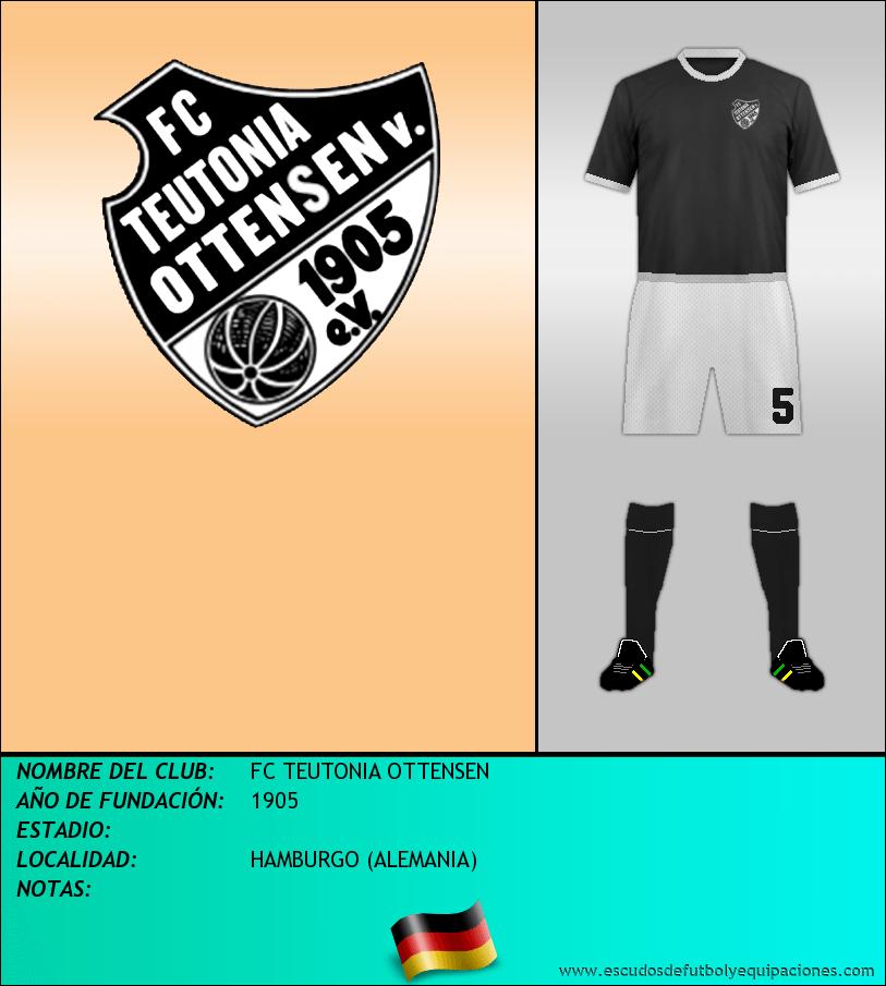 Escudo de FC TEUTONIA OTTENSEN