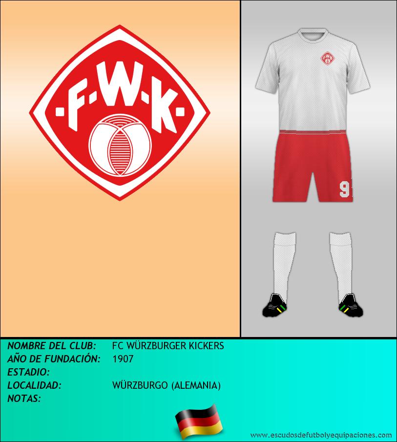 Escudo de FC WÜRZBURGER KICKERS