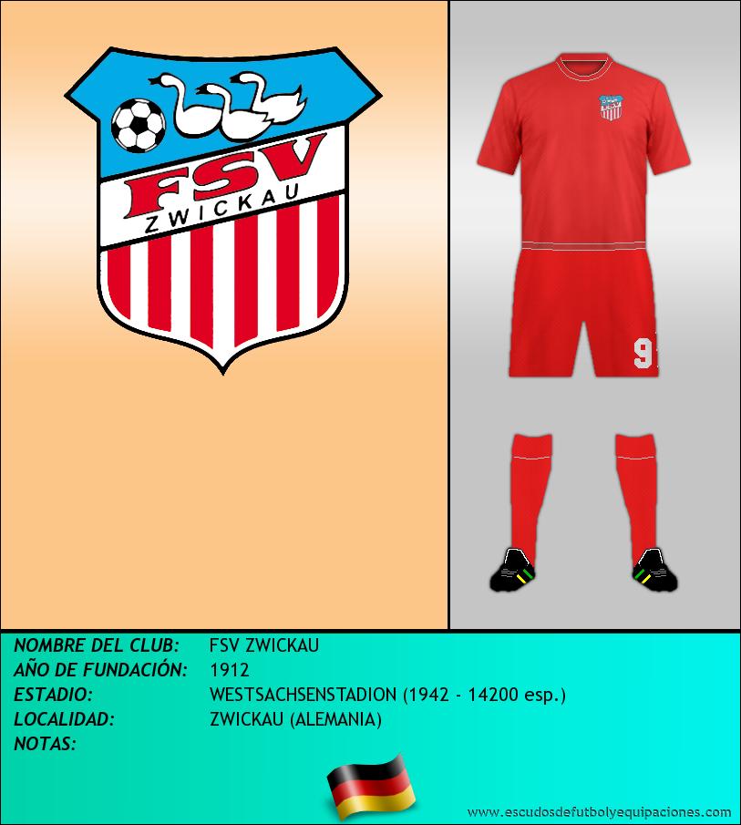 Escudo de FSV ZWICKAU