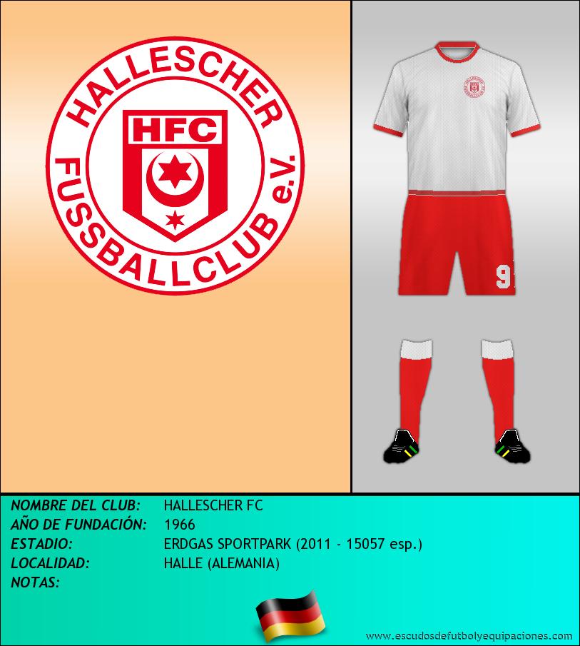 Escudo de HALLESCHER FC