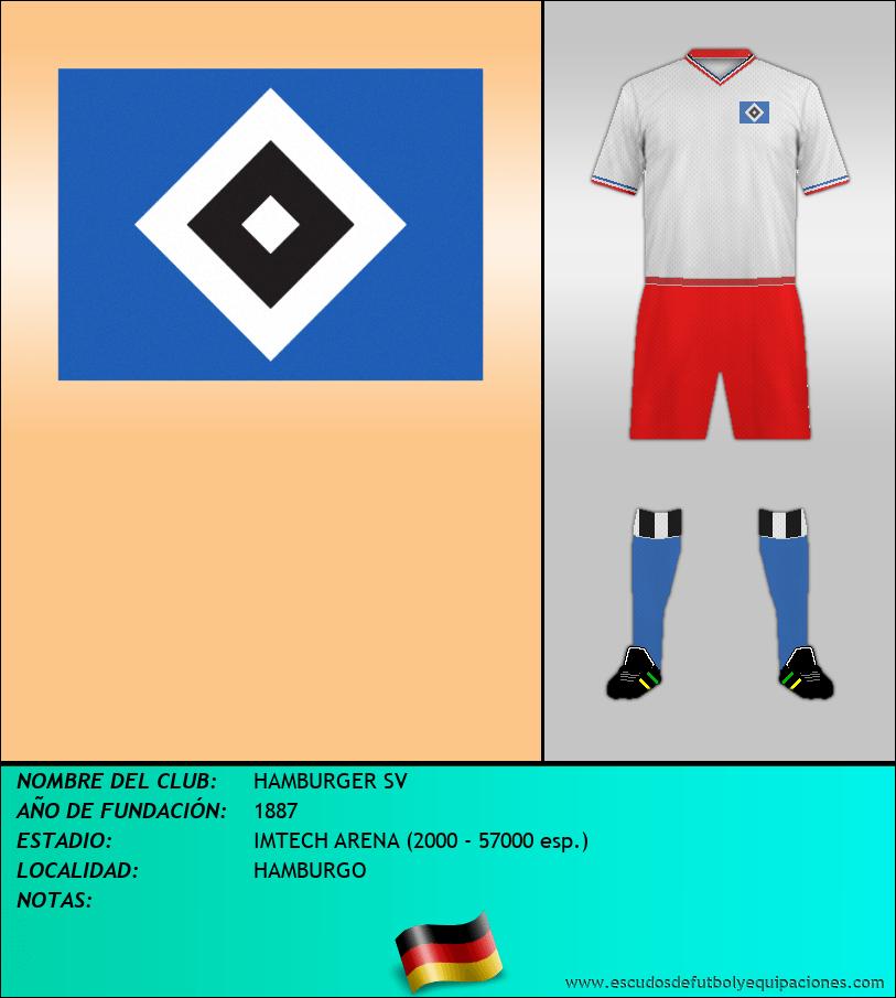 Escudo de HAMBURGER SV