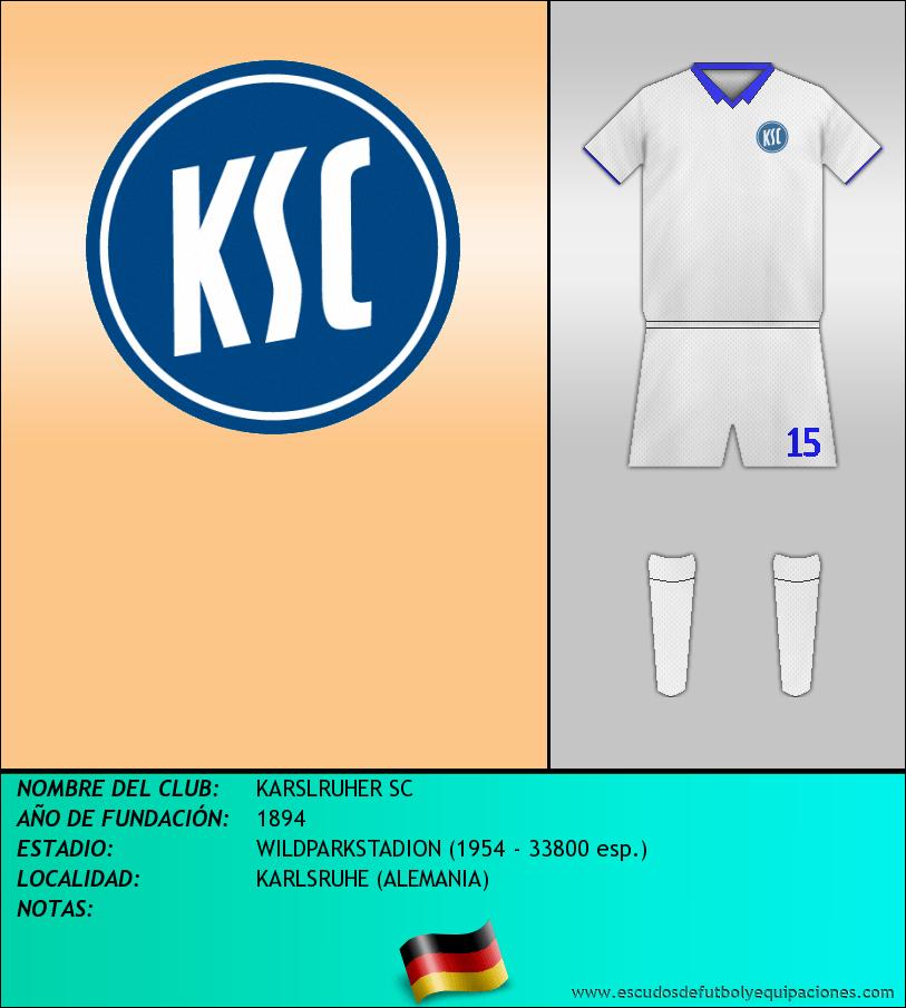 Escudo de KARSLRUHER SC