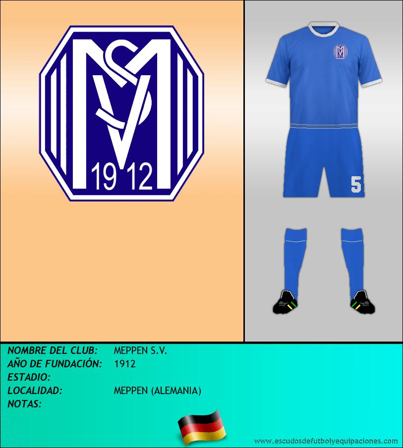 Escudo de MEPPEN S.V.
